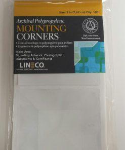"Lineco 3"" Mounting Corners"