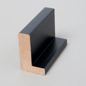"""1 1/2"""" black float frame"""
