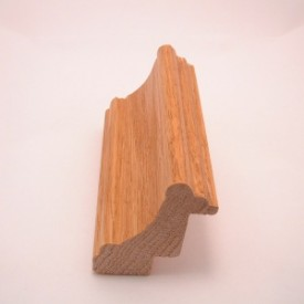 light brown frame stock oak wood shadowbox