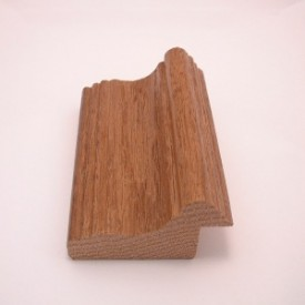 dark brown frame stock oak wood