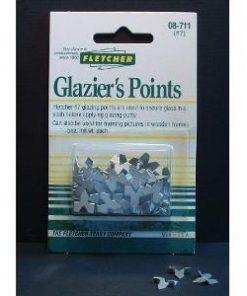 Fletcher glazier points