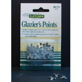 Fletcher glazier points