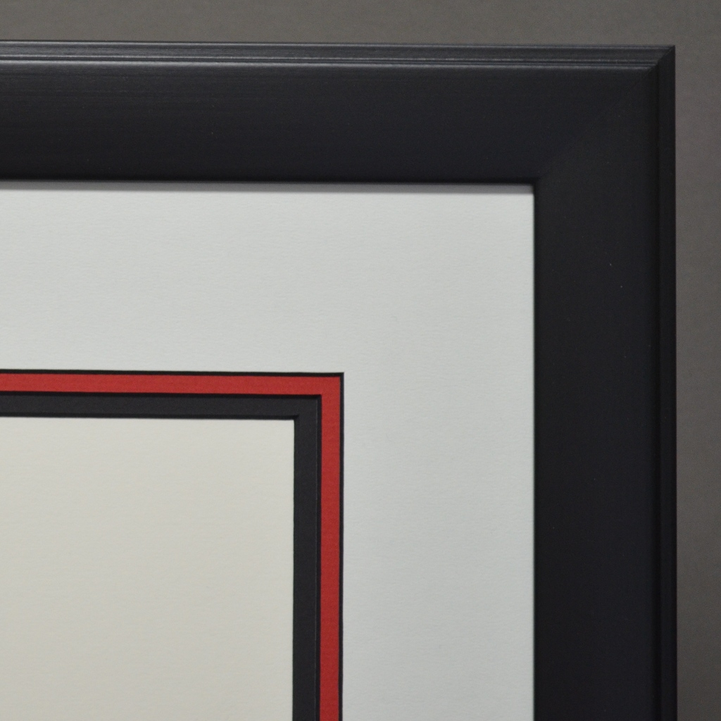 Matte Black Diploma Frame Framecraft Ltd