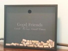 Large Wine Cork Shadowbox