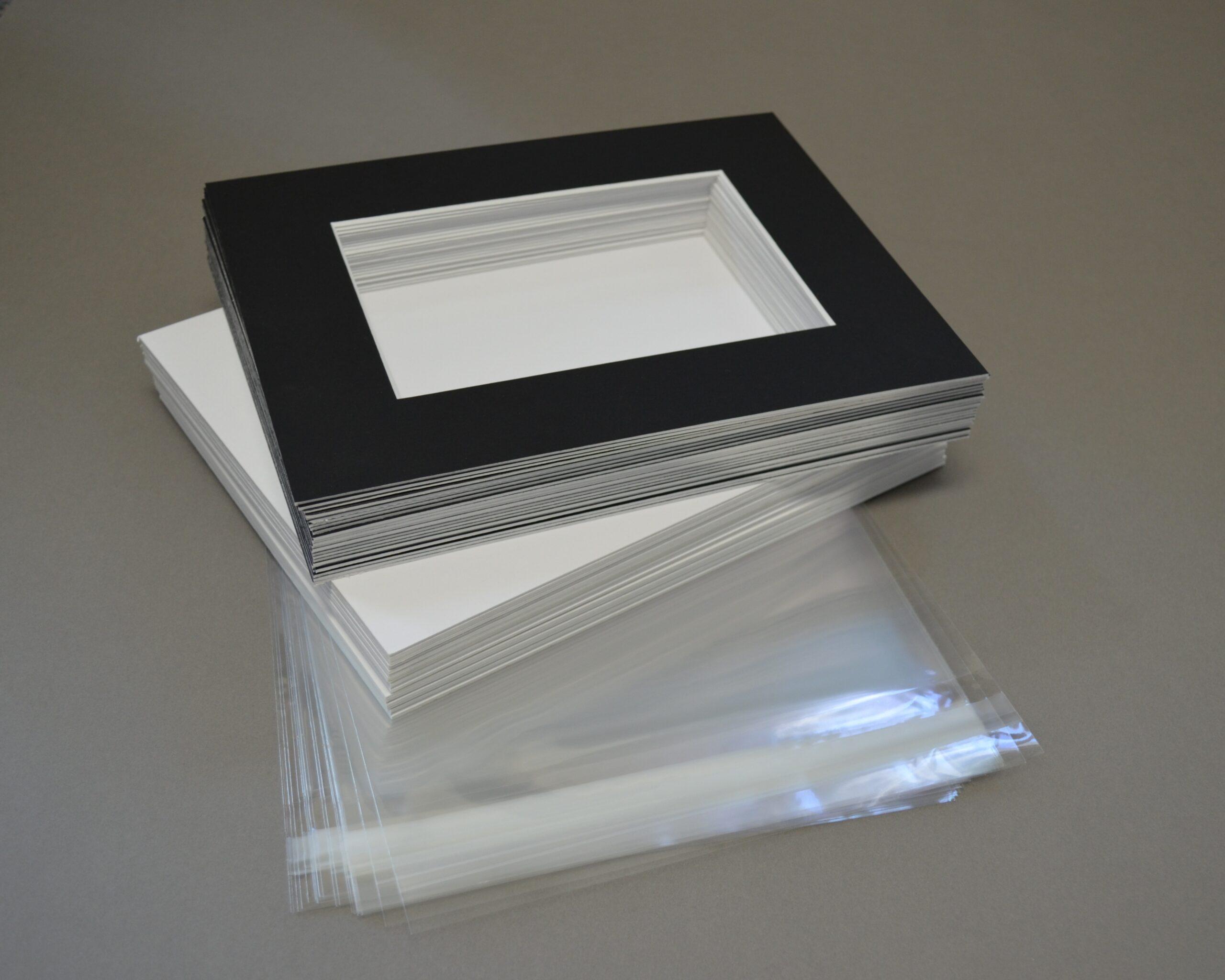Jet Black Matboard Presentation Kits