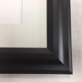 F186 Espresso Frame with Cream Mat