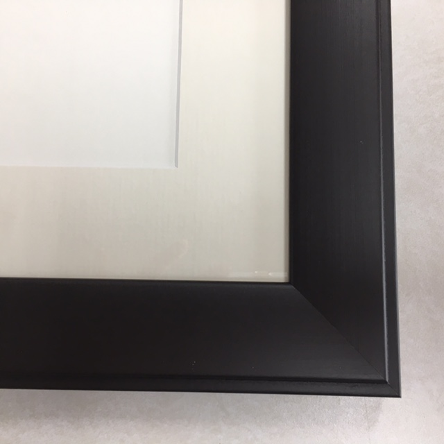 F141 Espresso Frame with Cream Mat