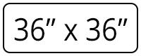 36×36
